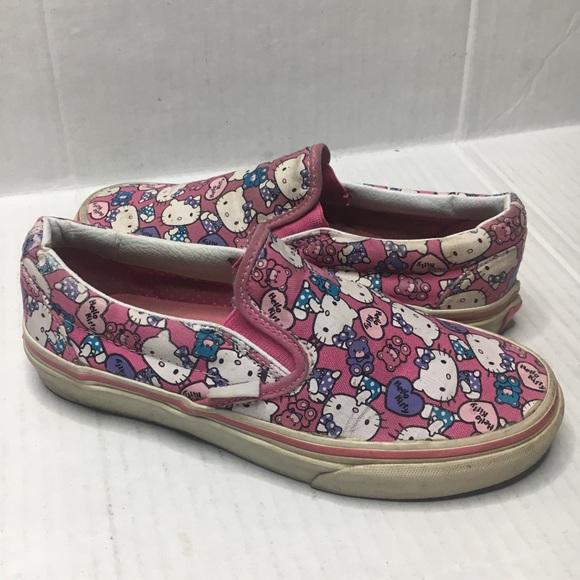 Rare Htf Pink Hello Kitty Vans   Poshmark